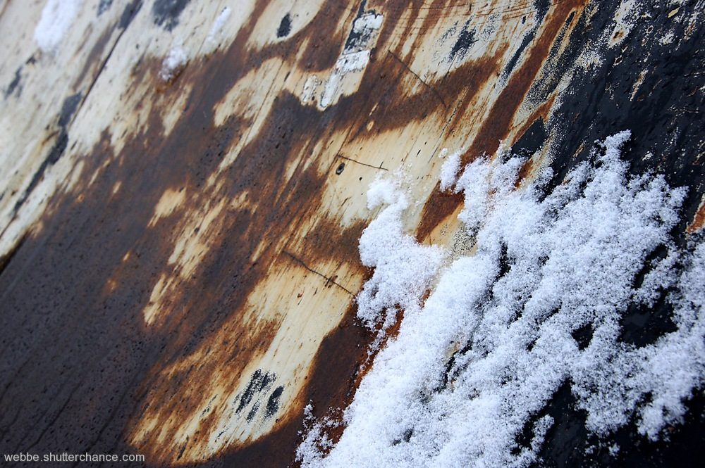 photoblog image Rust and Snow...